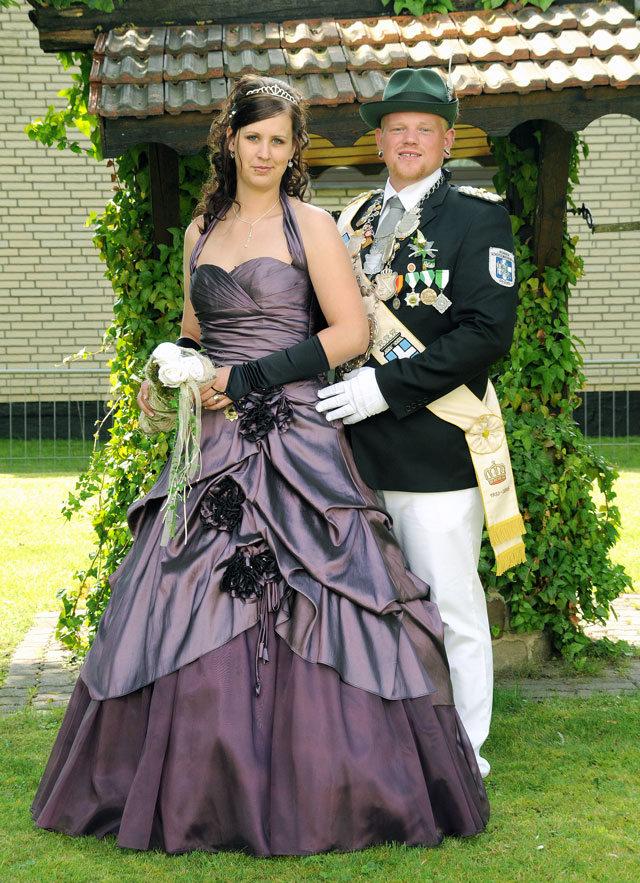 Königspaar 2010- -2011  Pascal Plümpe-Sabrina Basedy